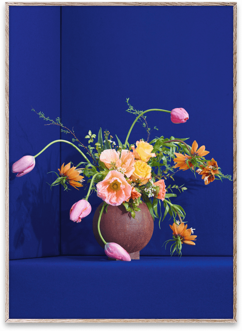 uffe buchard blomst 01 plakat