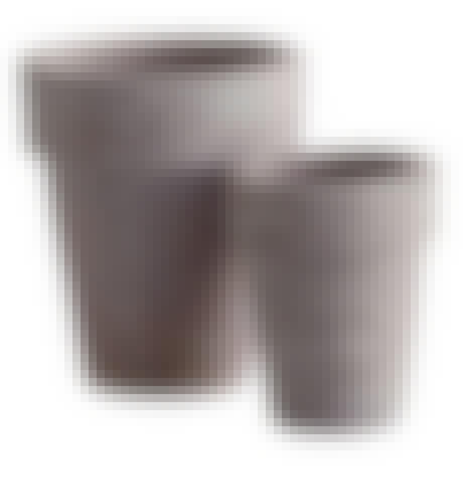 Urtepotter tinekhome grå