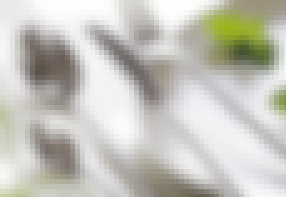 SILKE bestikk fra Raadvad med silkematt overflate