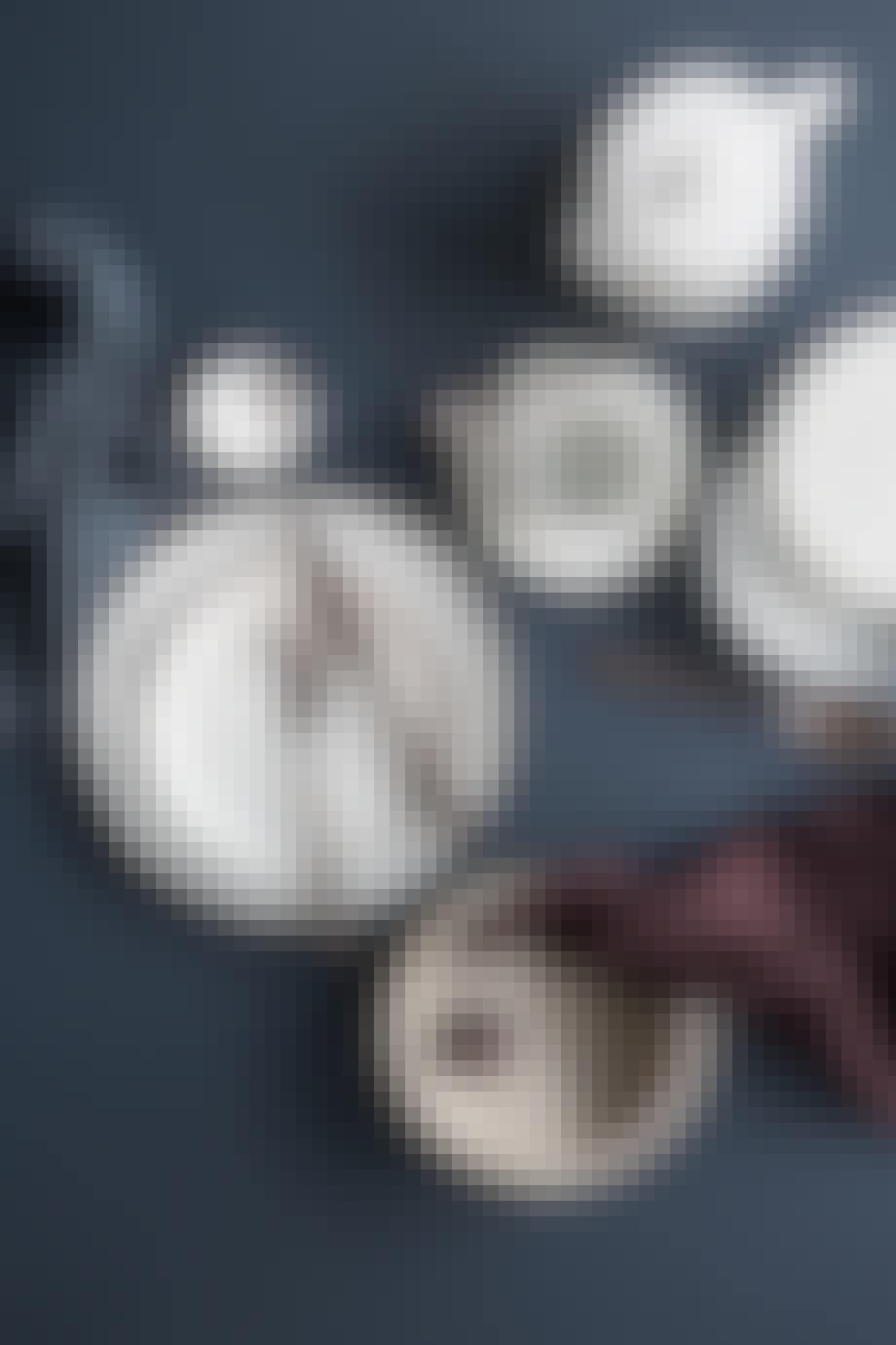 Bestikk i titanium espresso finish fra Broste Copenhagen