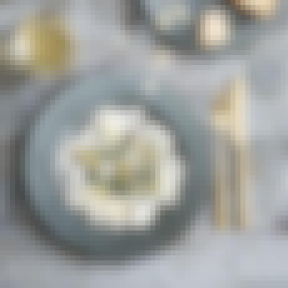 Bestikk i gull fra Bitz Copenhagen