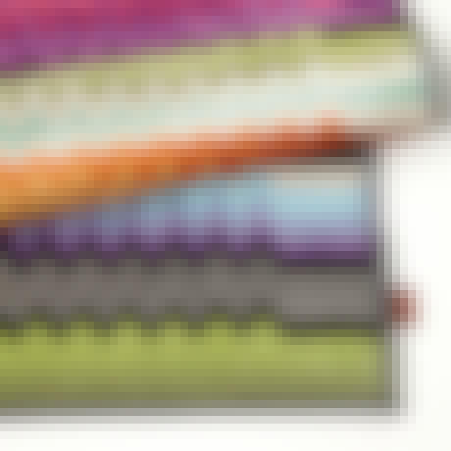 Mønstret bademåtte fra Missoni