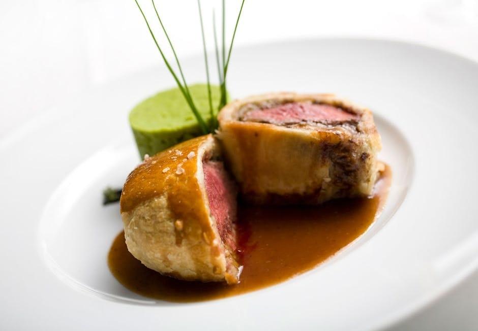 beef wellington bøf rødvinsglace opskrift nytår middag