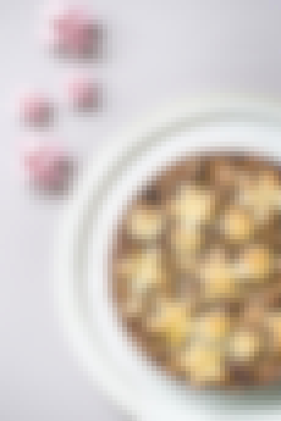 nøddetærte med mazarin og karamel