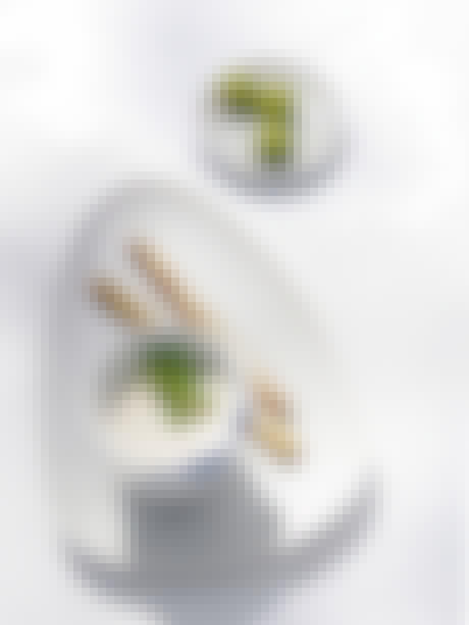 Opskrift med hvide asparges