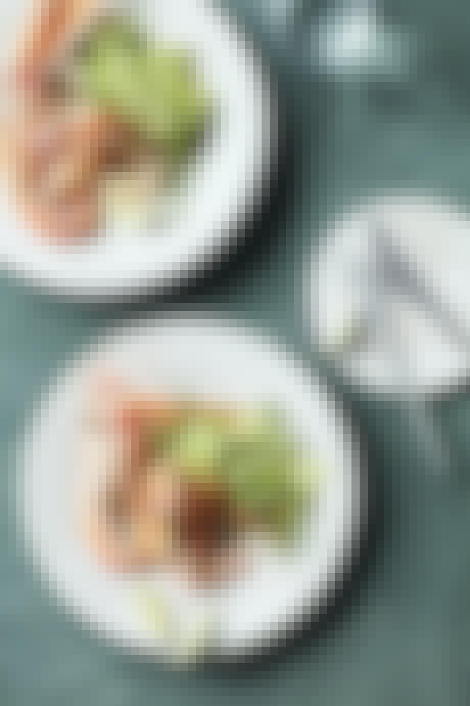 Jomfruhummer på grillen med fennikel og karry-lime-dressing