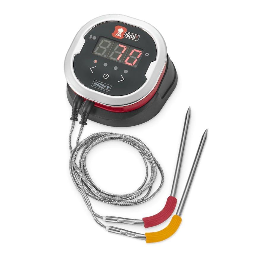 Weber stegetermometer app perfekt tilberedt kød