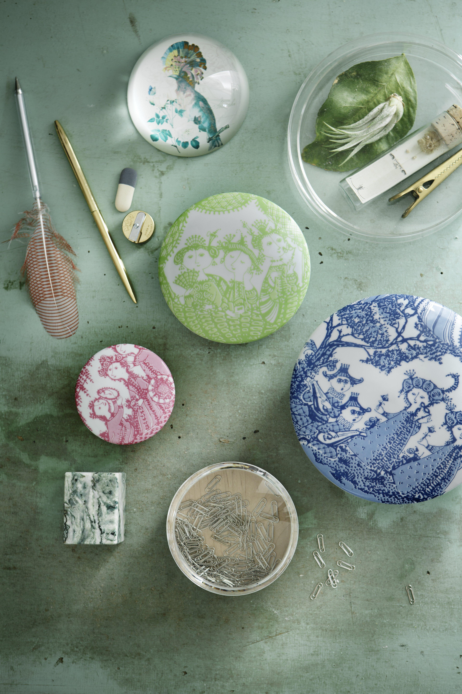 Fra Rosendahl Design Groups nye kollektioner med Wiinblad-kunst
