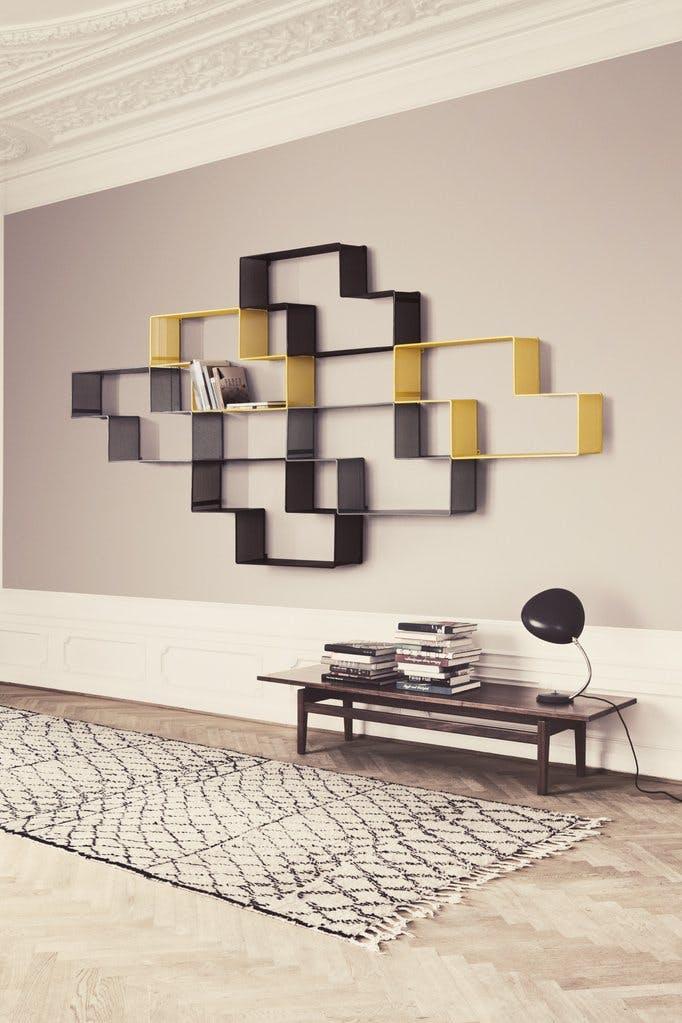 GUBI reol hylde grafisk element i indretningen