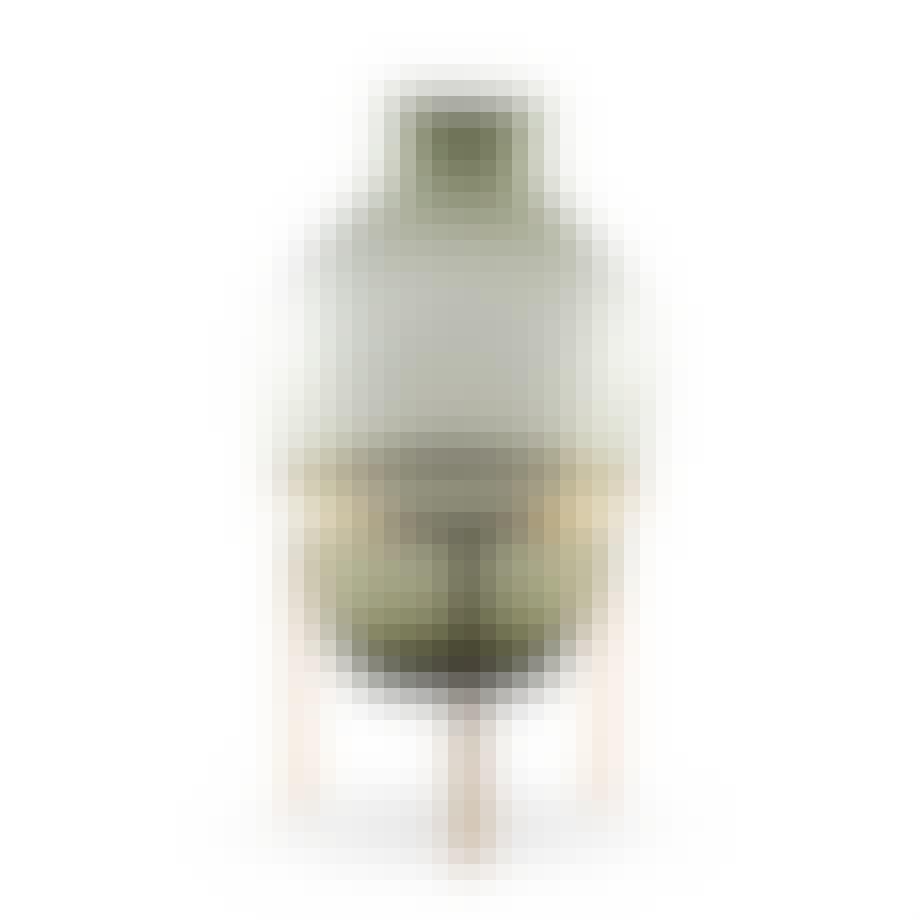 Vase i grøn glas