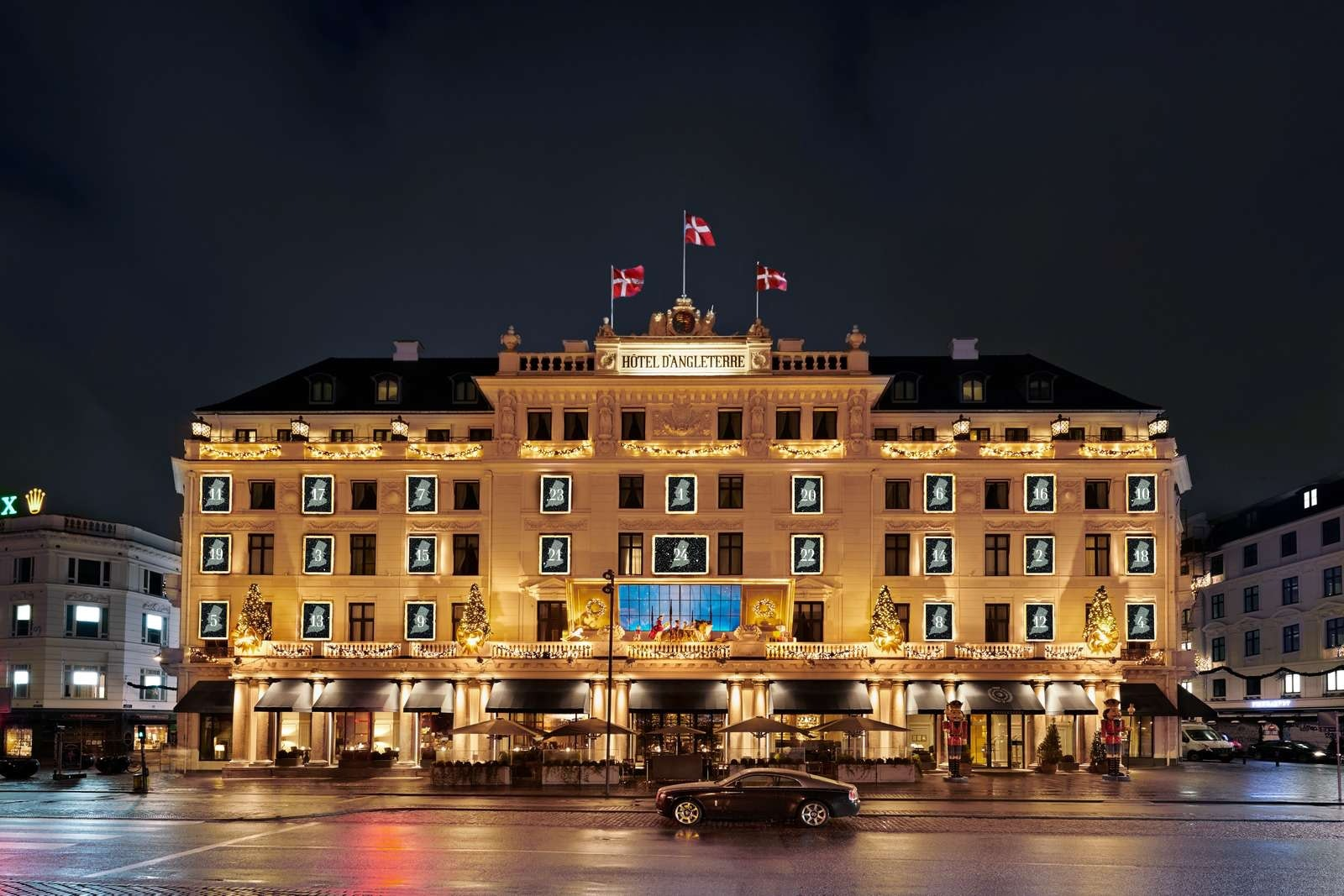 Hotel D'Angleterre julelys