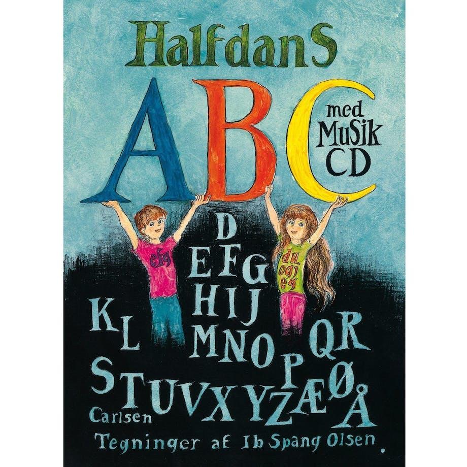 julegaver til børn bog halfdans abc