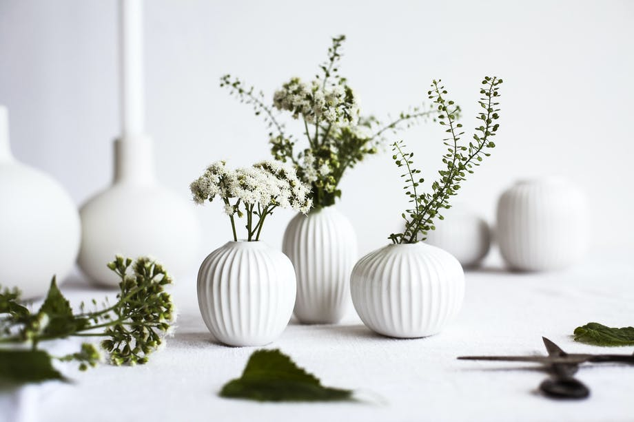 Vaser Kähler små hvid