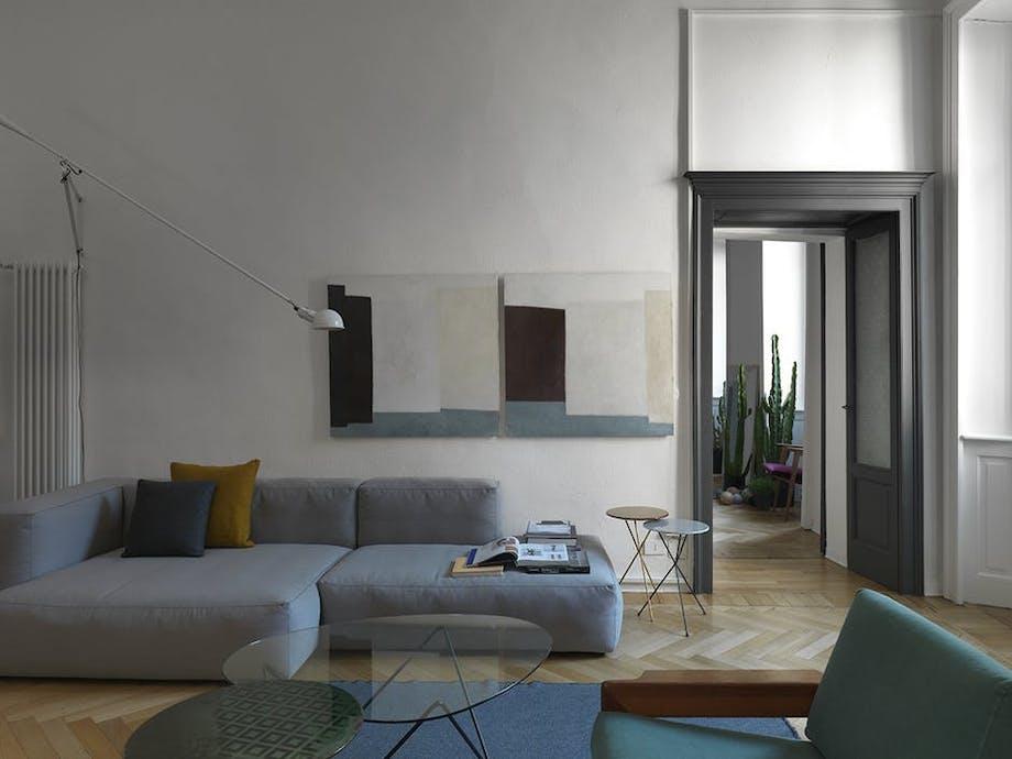 stue sofa indretning kunst maleri