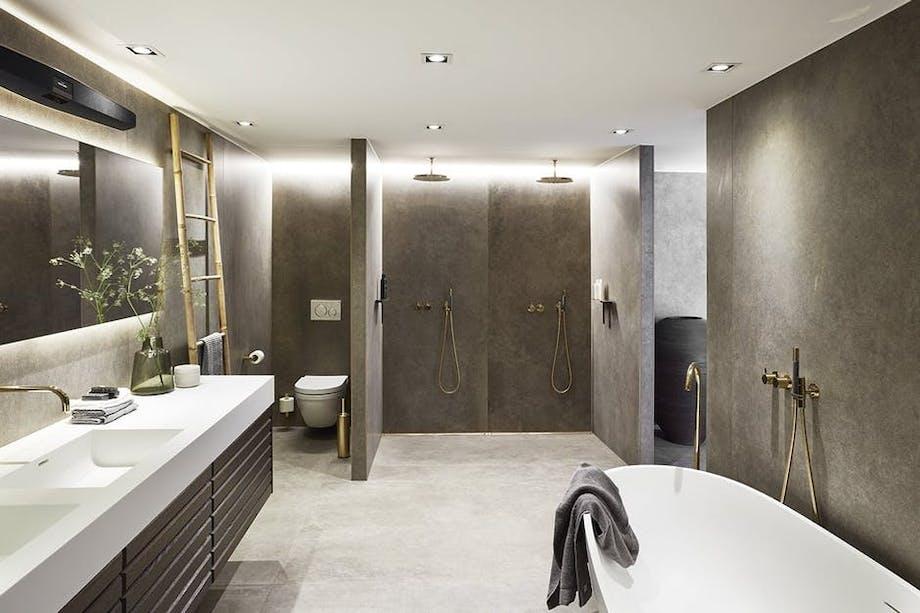 badeværelse indretning udvidelse vask brusebad bruseniche