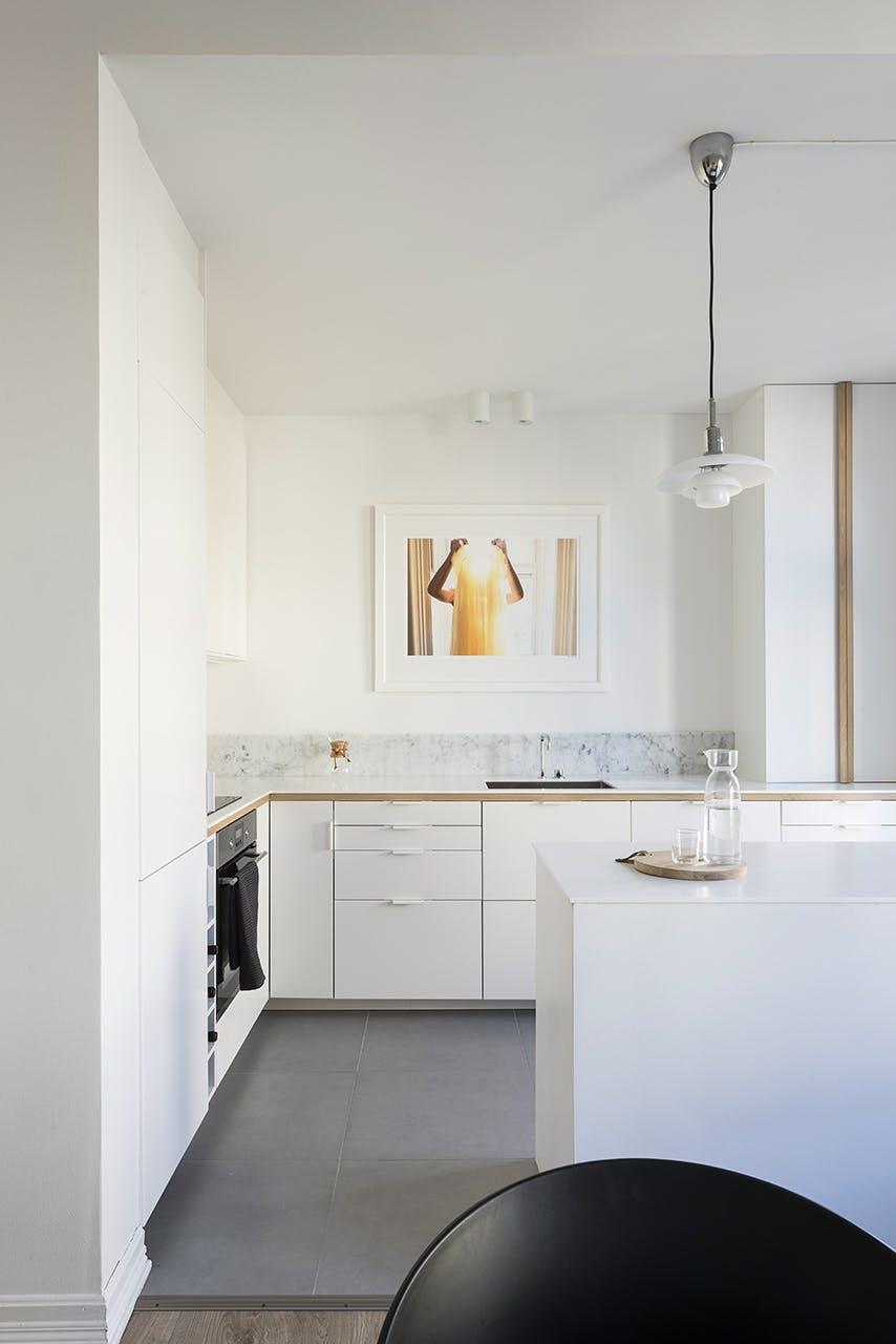 køkken ikea forvandling hvid køkkenskabe indretning