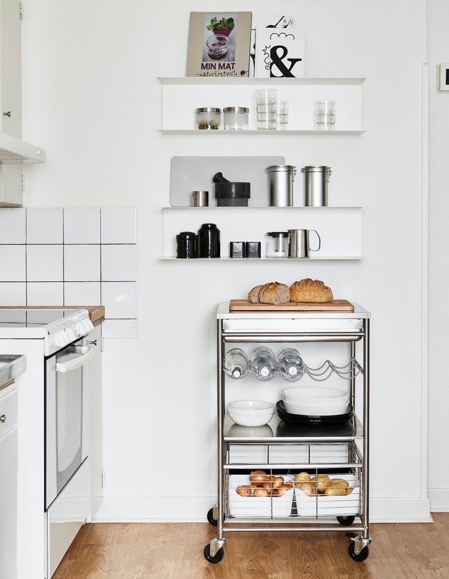 IKEA opbevaring køkken indretning