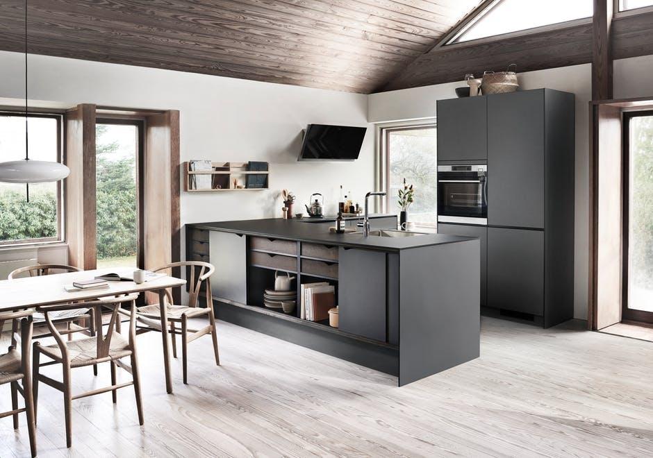 Kvik køkken køkkenmodul skab spisestue køkkenalrum