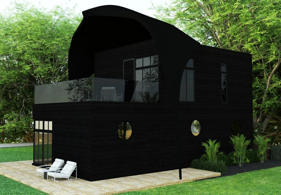 Helena Christensen design hus Revolution Precrafted
