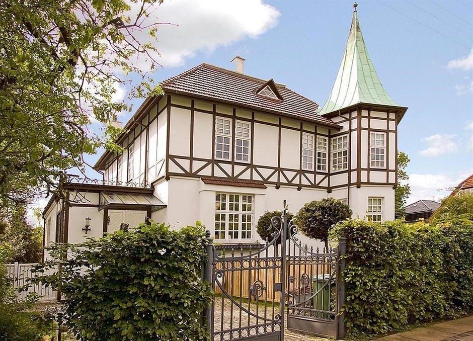 danmarks dyreste lejebolig hus tårn bindingsværk