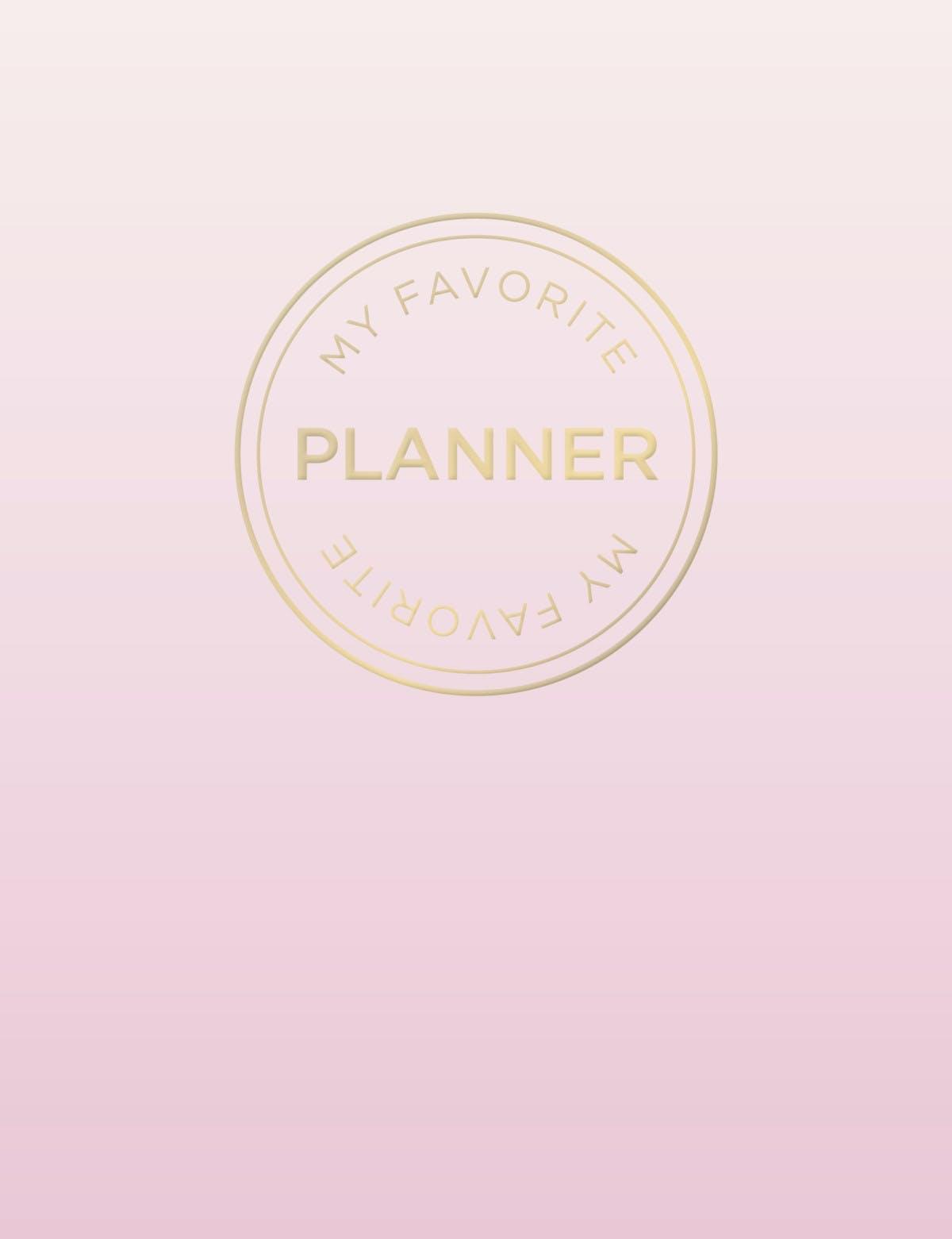My Favorite Planner
