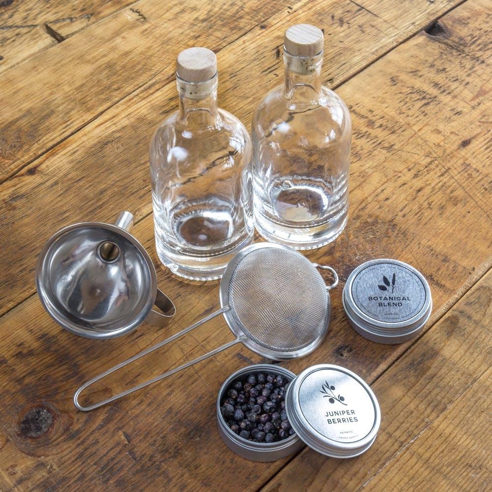 hjemmebrygget gin kit gaveide fars dag