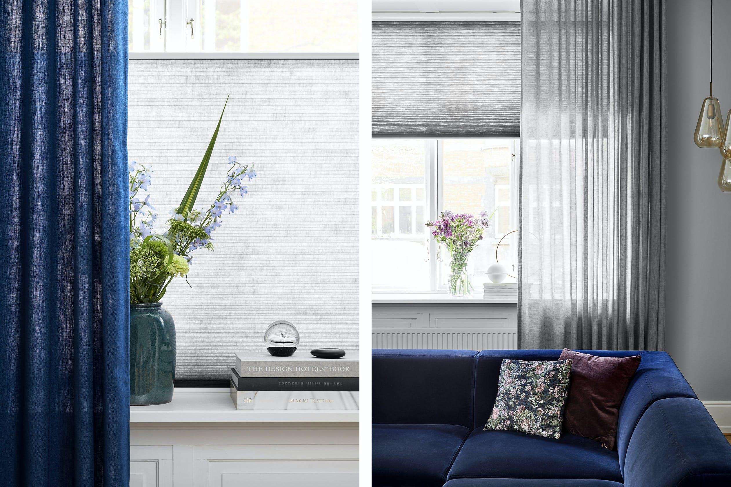 Luxaflex indretning styling vindueskarm gardiner