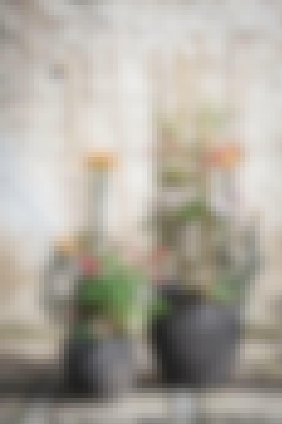 Anette Von Einem stylede blomsterkrukker
