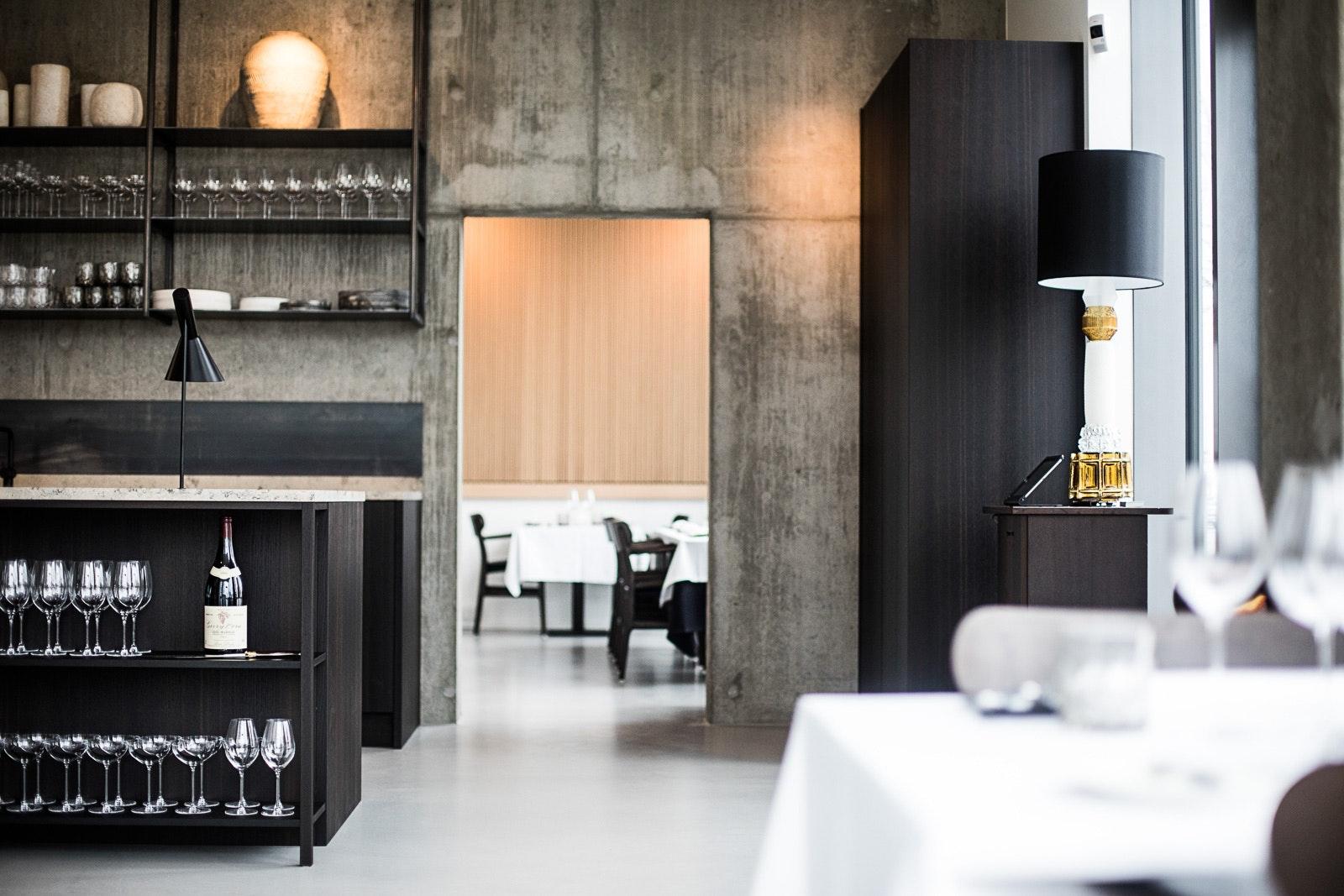 Restaurant Ghrelin indretning
