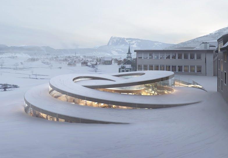 hotel bjarke ingels arkitektur