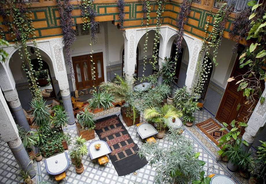 Marrakech indretning
