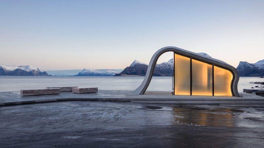 badeværelse norge natur toilet
