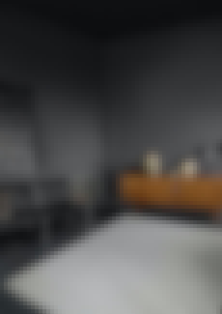 "Tæppet ""Betula"" vævet i papir fra Fabula Living"