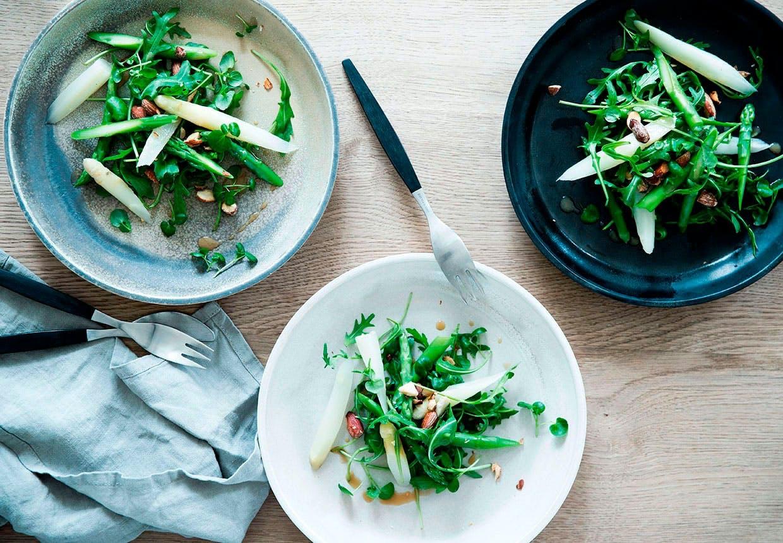 Aspargessalat opskrift