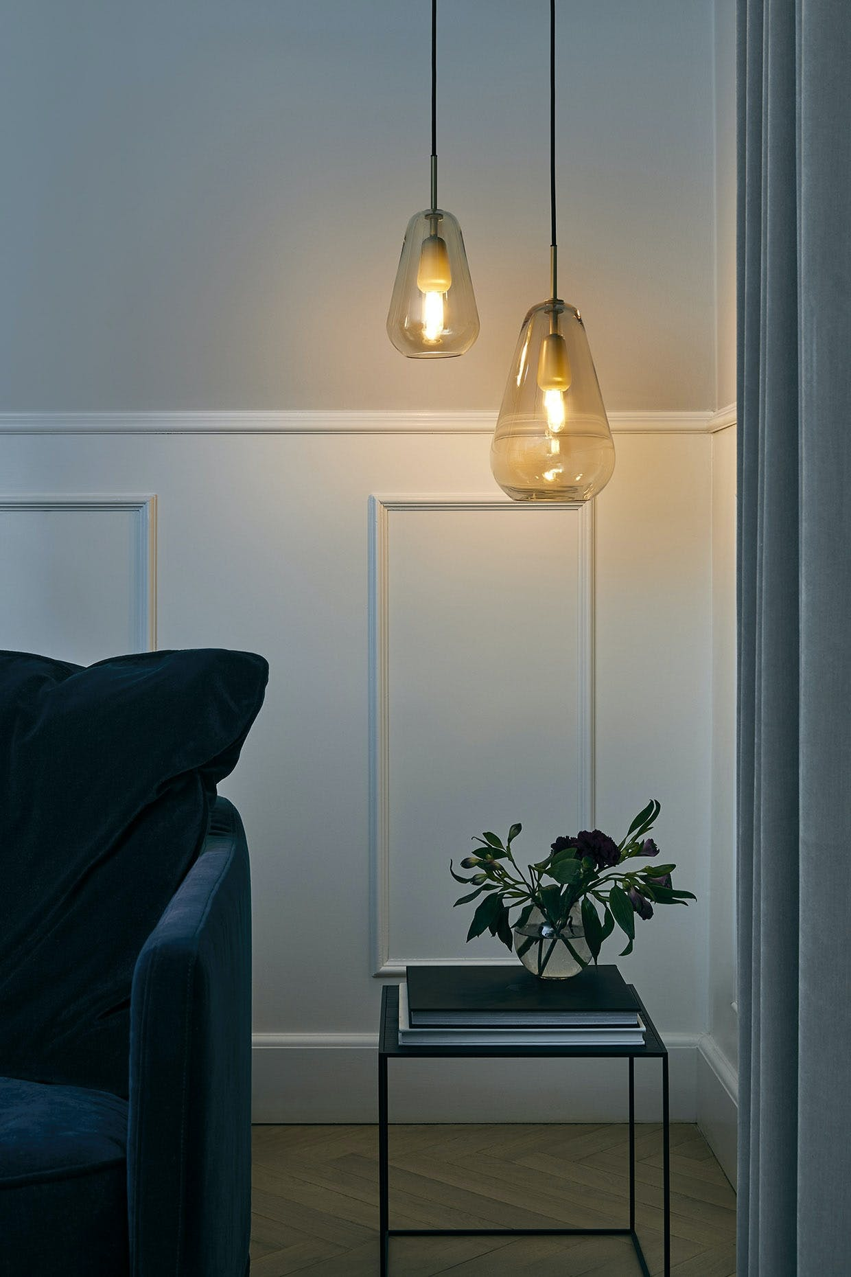 """Lampe fra Nuuras """"Anoli""""-kollektion. Priser fra 2.499 kr."""