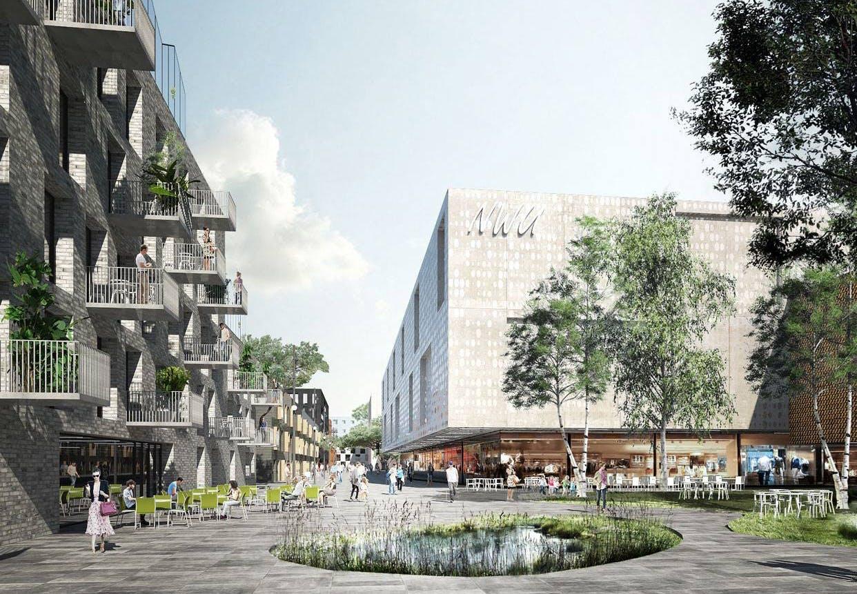 arkitektur vandland Danmark