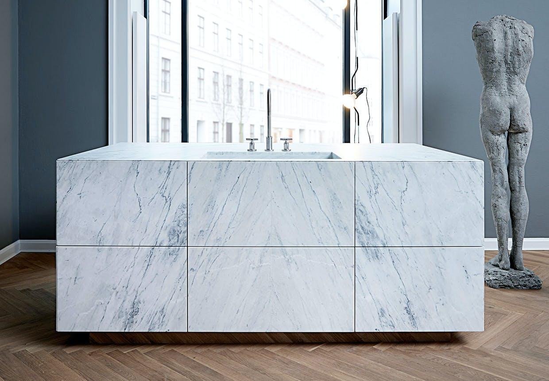 multiform marmor køkken form 45