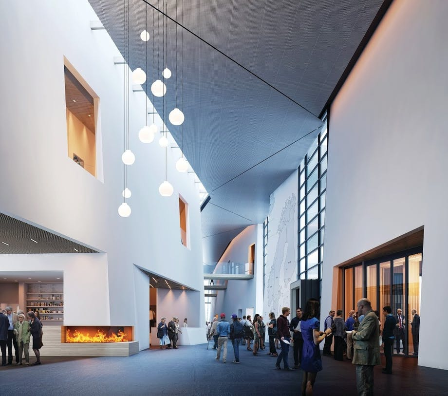 Nordic Museum hall seattle