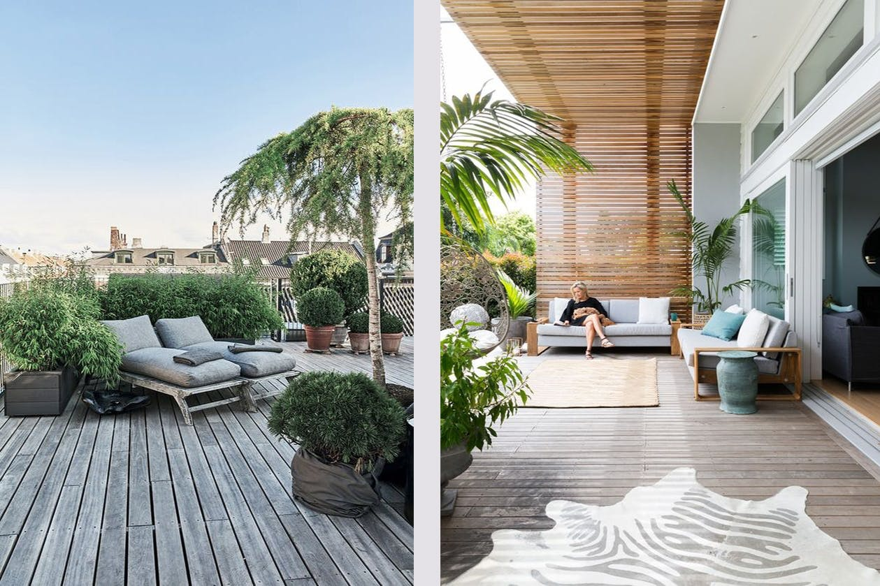 terrasse have planter møbler