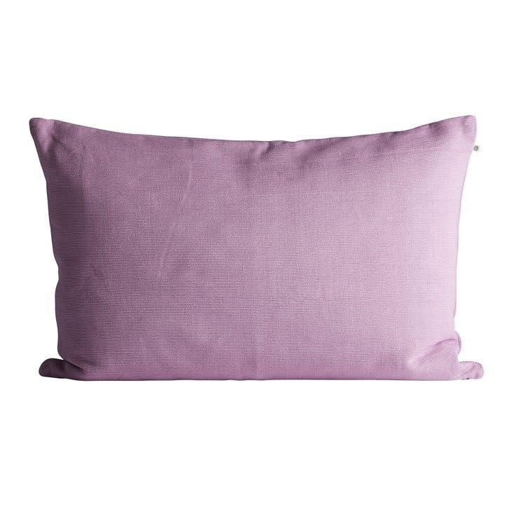 sofaer pude pude betræk plaid uld pink