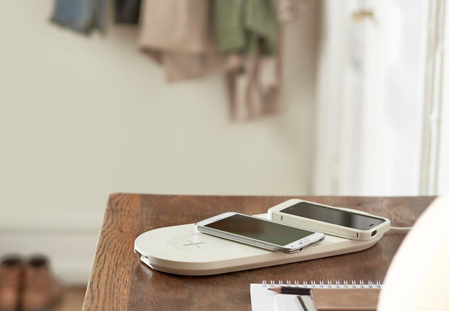 Ikea trådløs oplader til mobil smartphone