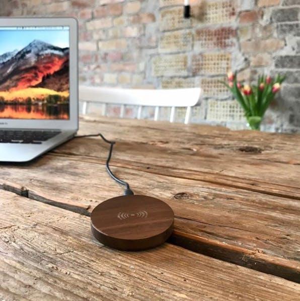 Wirelessly trådløs oplader til mobil smartphone