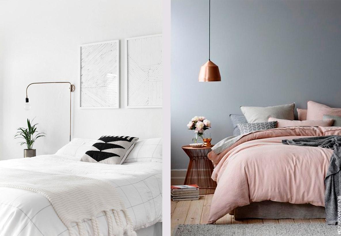 indretning til soveværelse