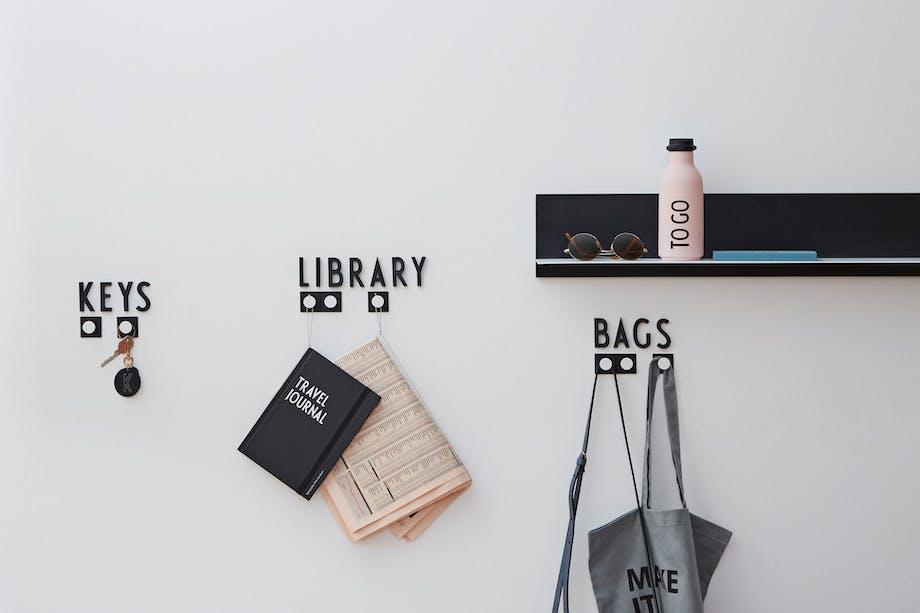 arne jacobsen design letters husnummer bogstaver
