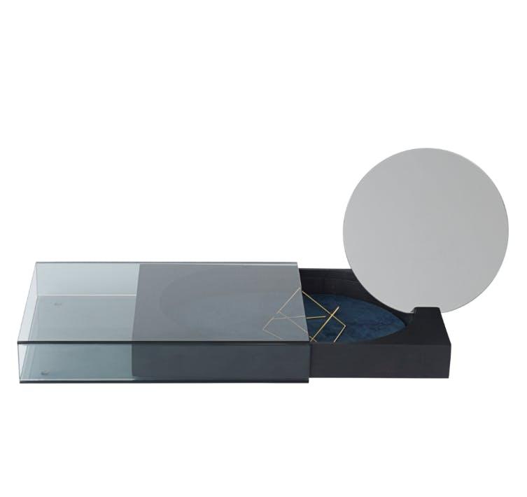 nomess smykkeskrin med spejl matchbox