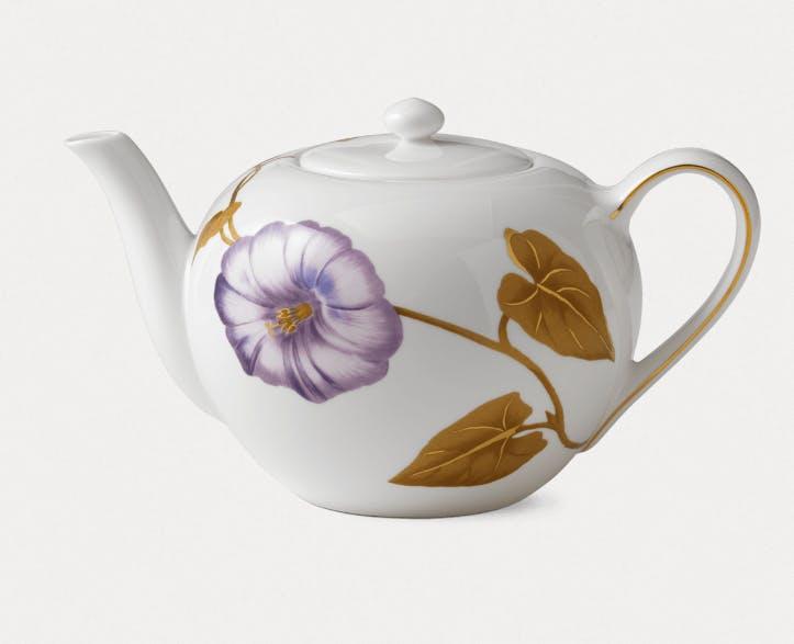 royal copenhagen tekande flora snerle