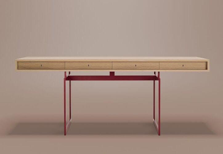 """Karakter Copenhagen er producenten bag relanceringen af Bodil Kjærs ikoniske arbejdsbord """"BK"""" fra 1959."""