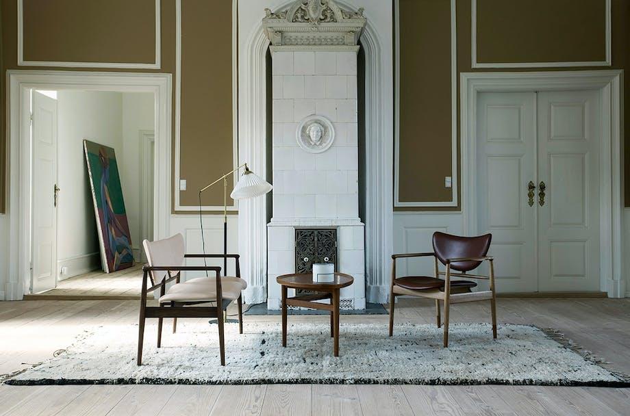 House of Finn Juhl møbler dansk design 48-serien stol sofabænk