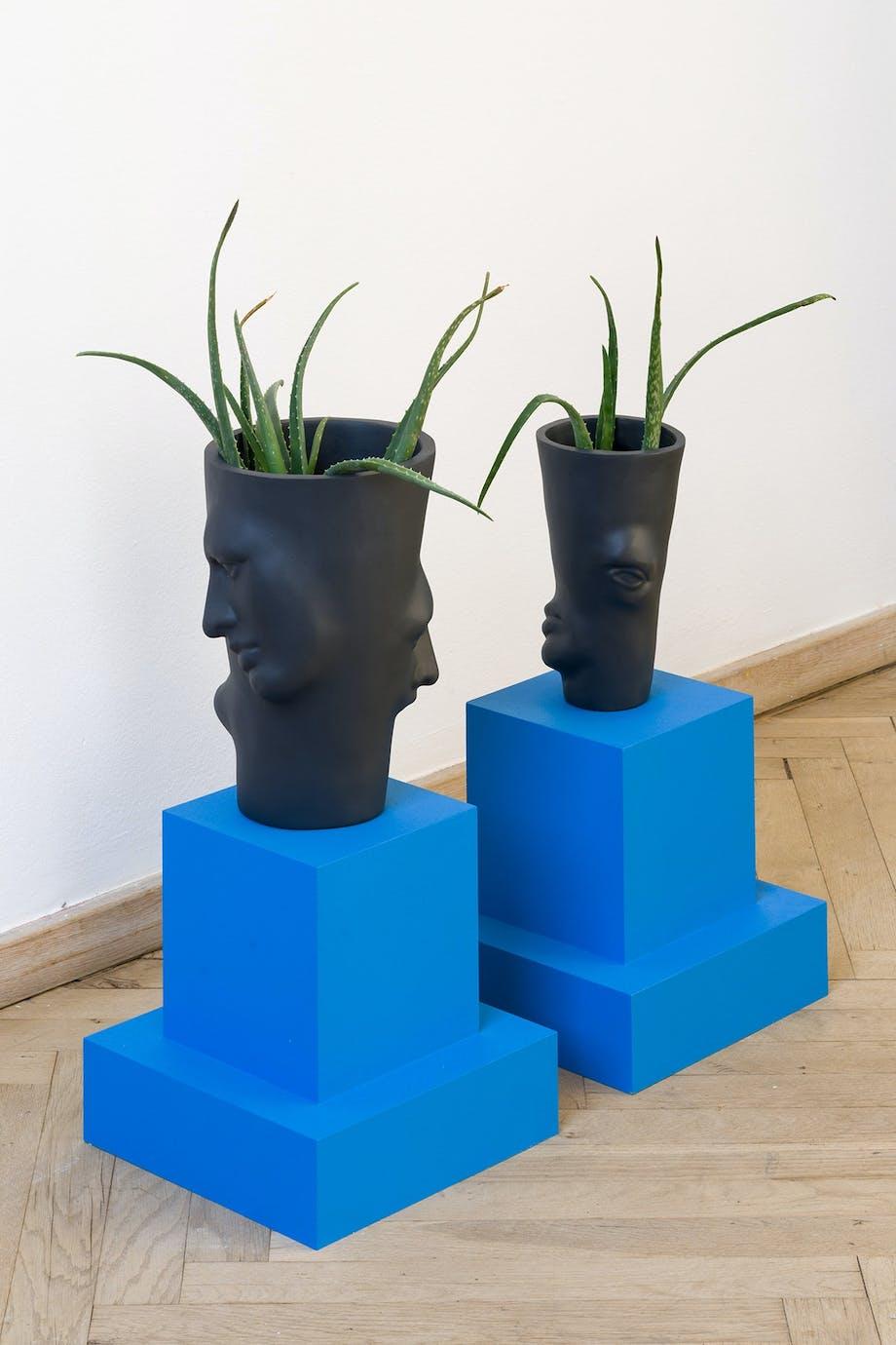 """Kunstværk af Ockie Basgül Dogan: """"Heavy Mental, Carte Bleue"""""""