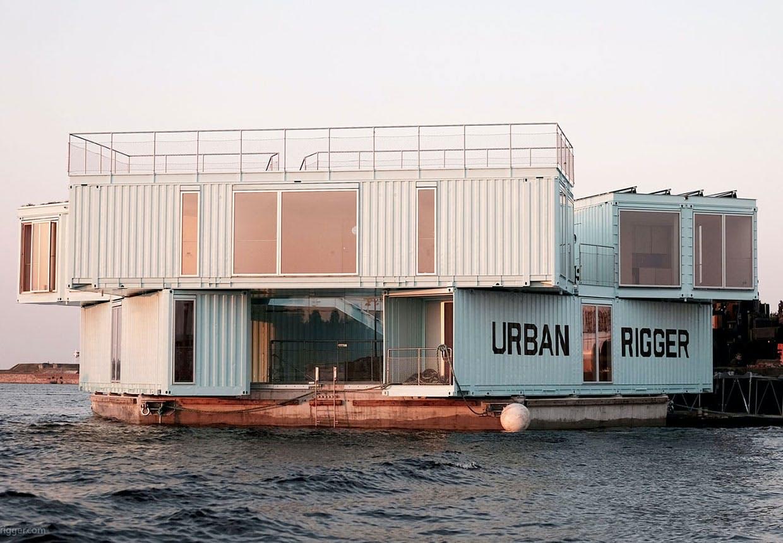 urban rigger container lejligheder